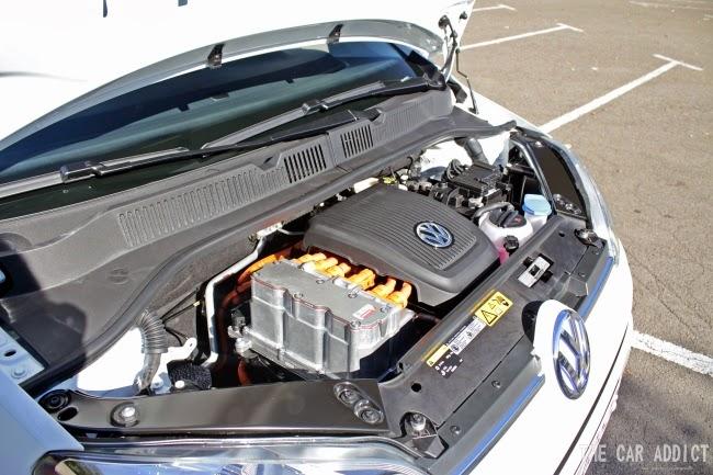 Volkswagen e-up! (white)