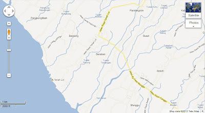 Tanah Lot Map