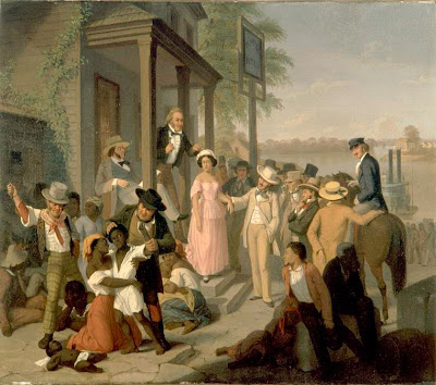 paintings Slave auction