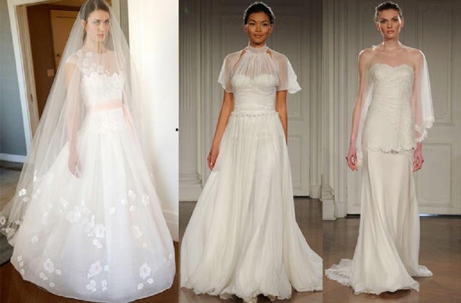 بالصور: طرحات الزفاف من أشهر مصممي الأزياء لصيف 2015