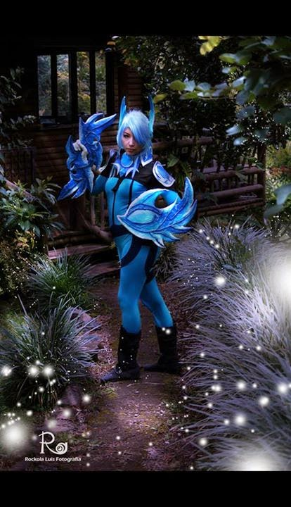 Dota 2 Cosplay Luna the Moon Rider