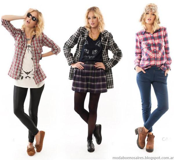 Coleccion de moda otoño invierno 2014 Indiga.