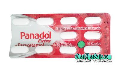 Panadol Extra ( Merah) Dosis dan Harga