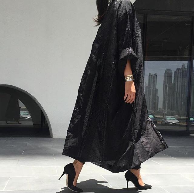 Dubai 39 S Trending Abaya Fashion Designers Muslimah