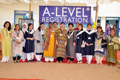 Dawood public school A level event group photo