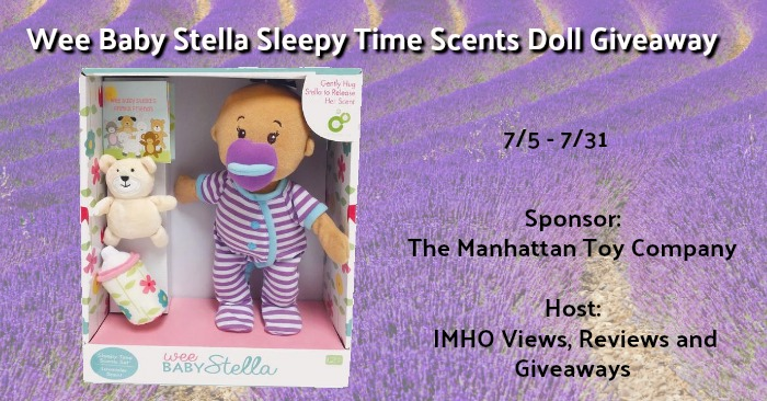 Wee Baby Stella Doll Giveaway