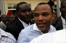 IPOB leader, Nnamdi Kanu in court