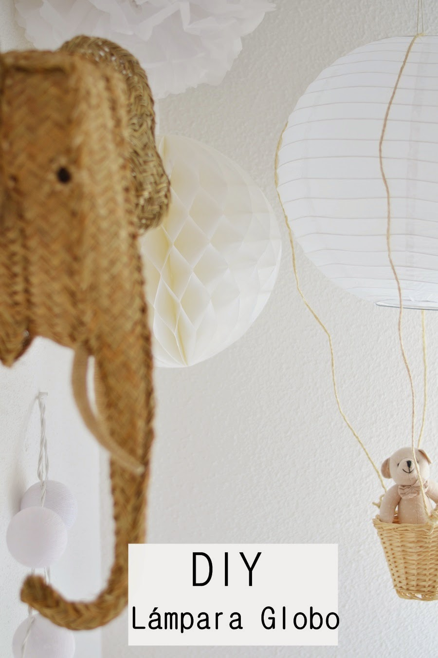 Lámpara globo {DIY}