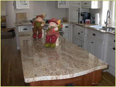granite and marble kitchen
