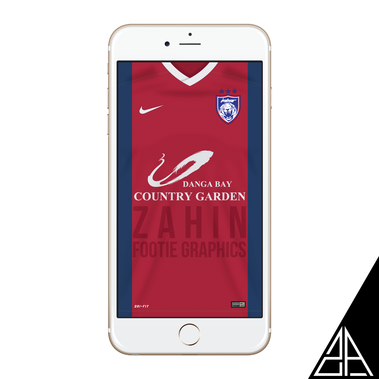 Johor Darul Tazim Home Away Third Kit 2015 Wallpaper For Your IPhone Android
