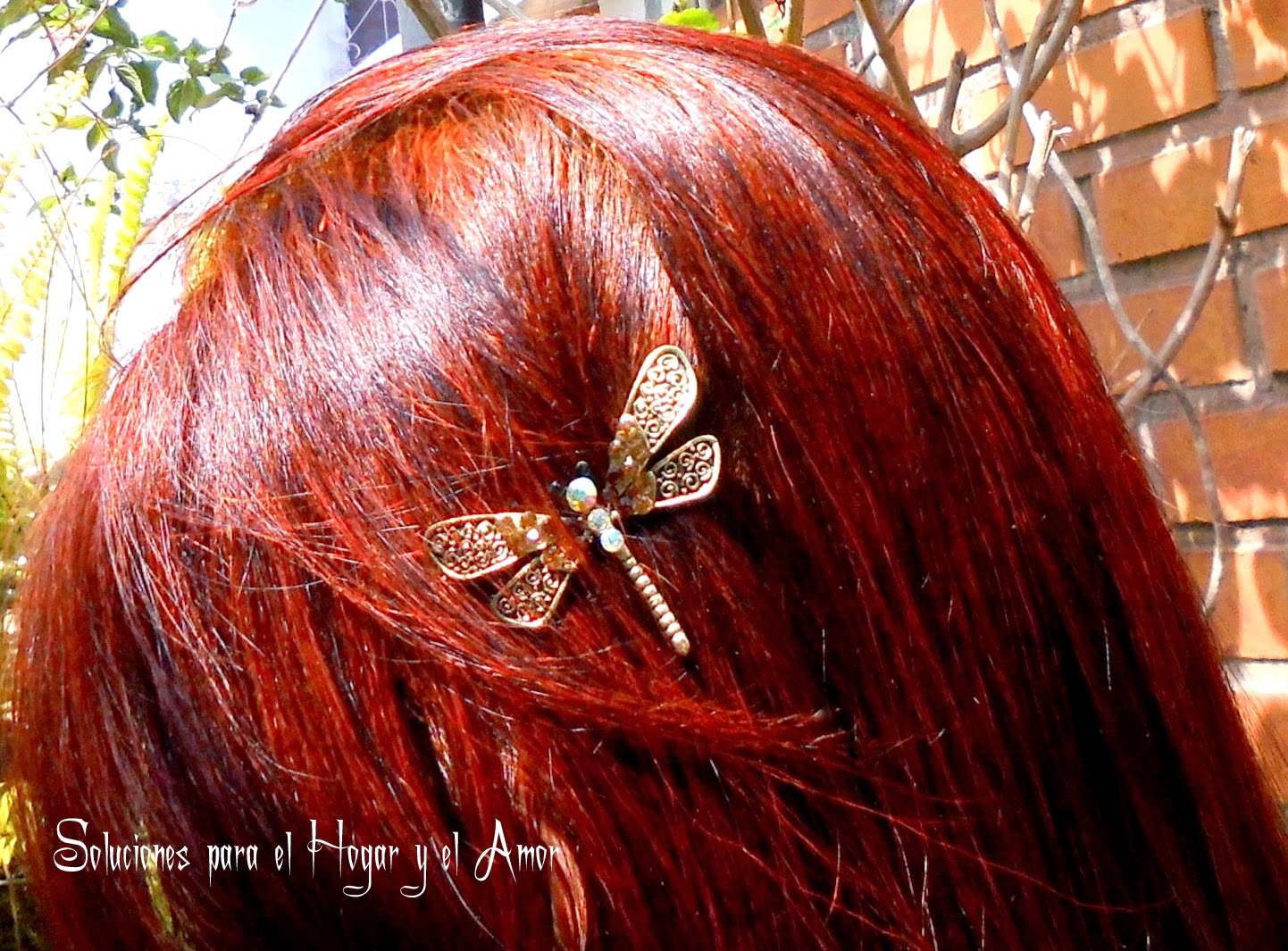 Como teñirse con Henna Tinte Natural para el Cabello, el resultado de como tiñe la henna el cabello de color rojo cobrizo