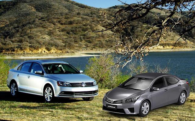 VW Jetta 1.4 TSI Flex x Toyota Corolla 1.8 CVT -  comparativo