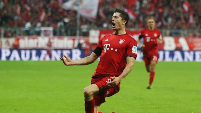 VfL Wolfsburg, FC Bayern München, Wolfsburg, Bayern Munchen, Robert Lewandowski, Lewandowski, 5 Goals, Five Goals, Soccer, Football, nine minutes, 9 minutes, Substitute, Bayern Munich, Bundesliga, Polland, Allianz Arena, Germany, Video, 2015