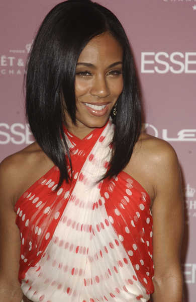Jada Pinkett Smith Short Black Hairstyles