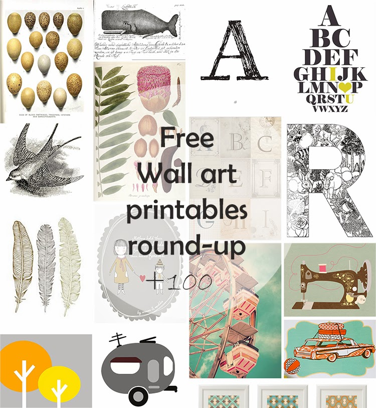 Diy Monday Free Wall Art Printables Ohoh Blog
