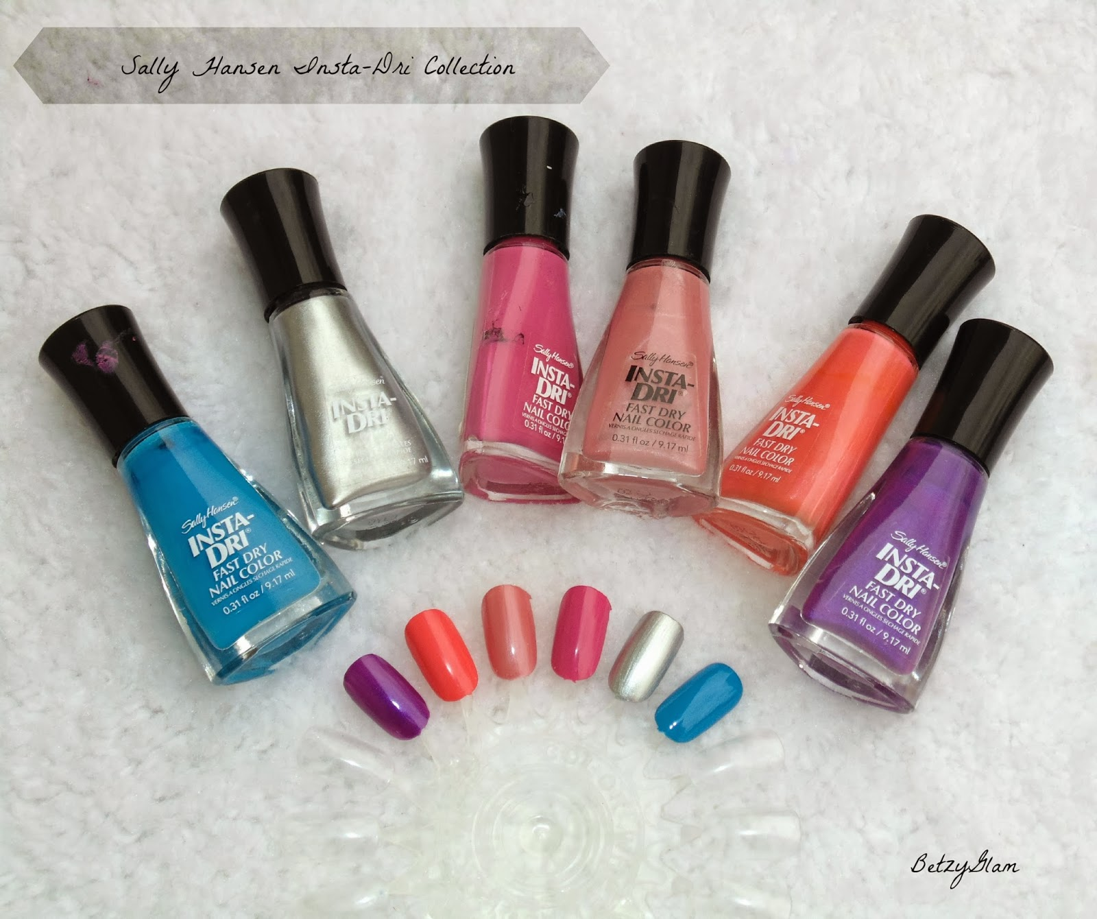 Sally Hansen Insta-Dri Fast Dry Nail Color Collection - My Latina ...