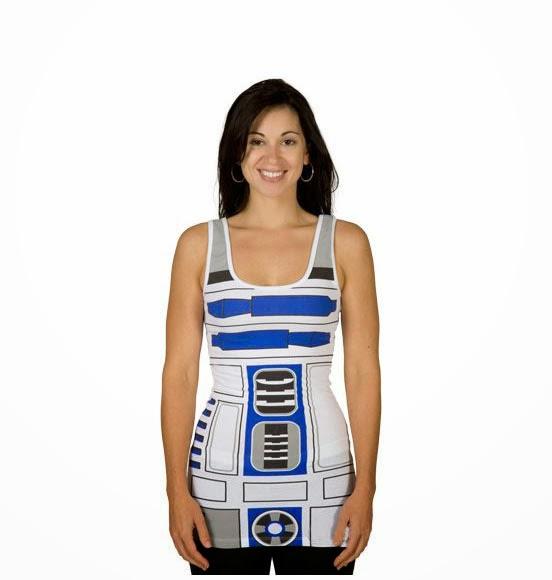 Camiseta de tirantes R2 D2