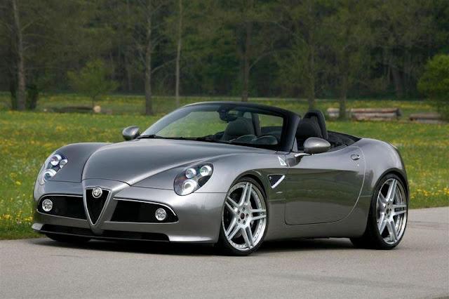 2009-Alfa-Romeo-8C-Spider-Exterior-front