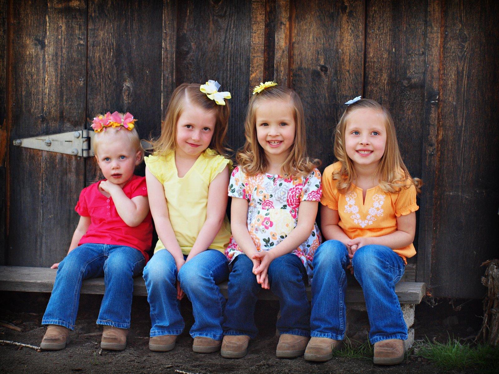 essay on four little girls