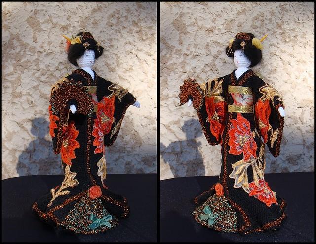 Poupée Geisha