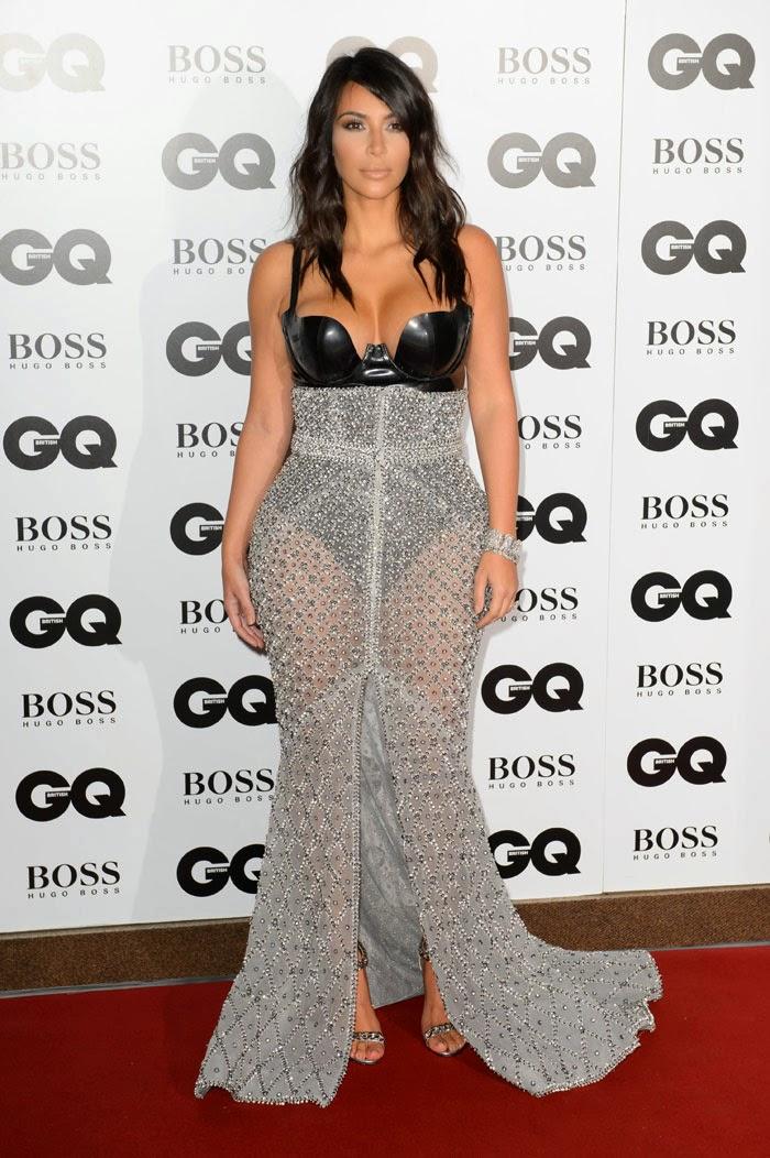 Kim Kardashian Premios GQ 2014