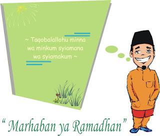 Gambar Ucapan Selamat Bulan Puasa Ramadhan