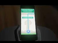 Batman utilizando Apple Maps
