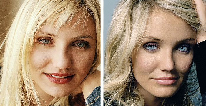 Cameron Diaz Before Cameron Diaz Before And After