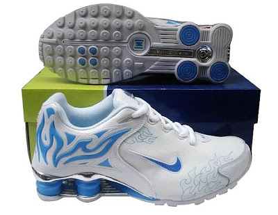 Nike Shox R4 Torch White Gold Running Shoes