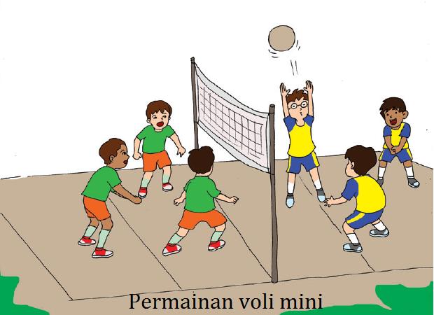 Permainan Bola Voli Dan Mini Voli Bagi Anak Usia Sd Selamat Datang Di Kelas Bu Asih