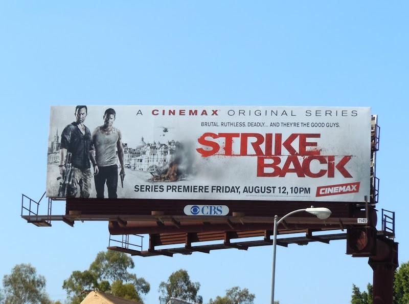 Strike Back season 1 billboard