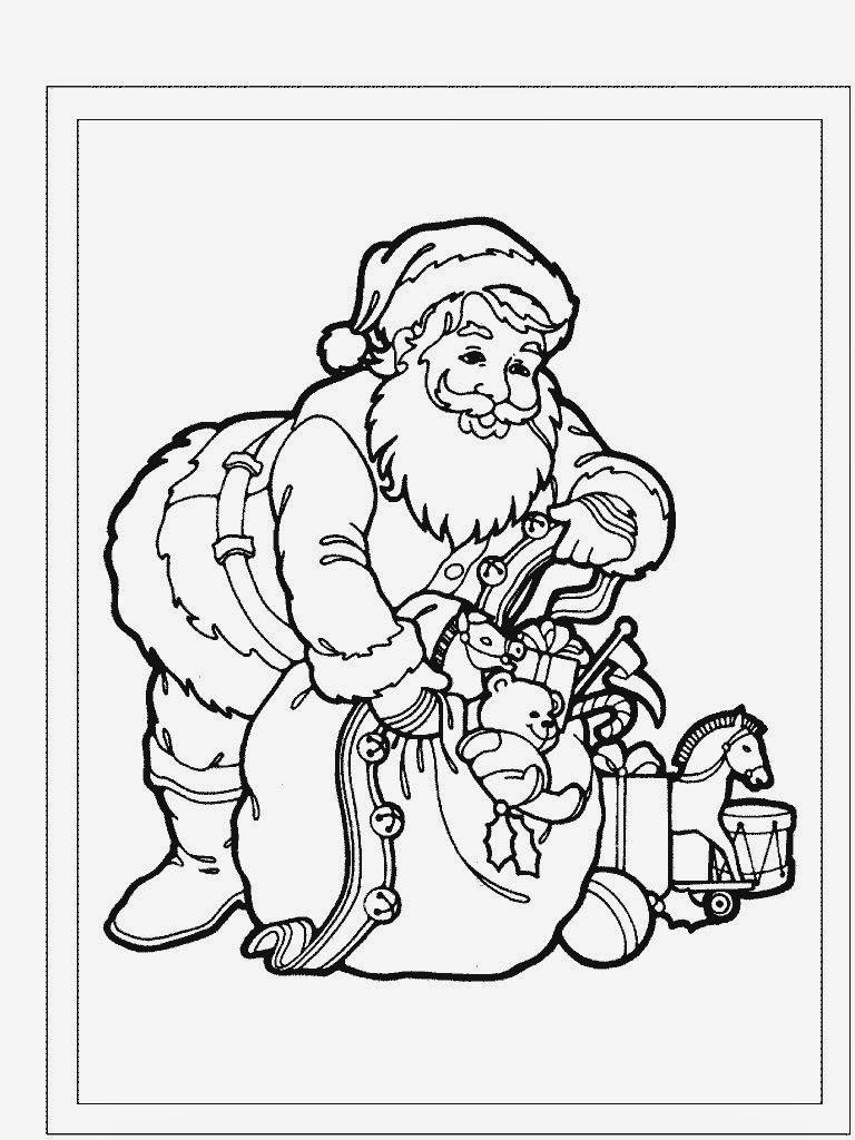 Perfecto Papá Noel Viene A La Ciudad Para Colorear Regalo ...