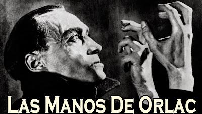 Imagen reconocida de la película Las manos de Orlac...