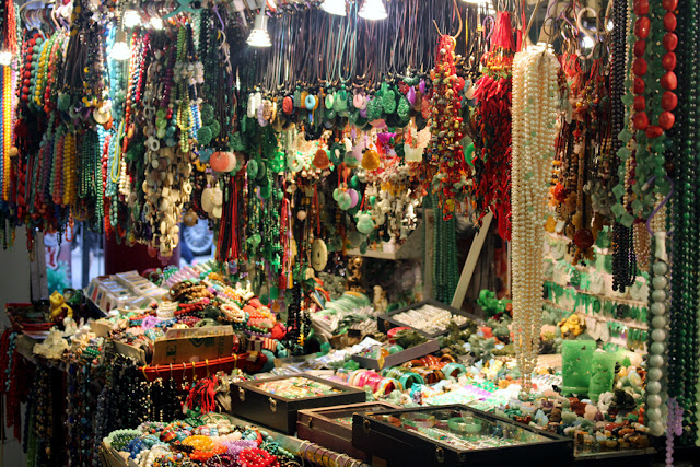 Jade Market in Hong Kong | travel blog