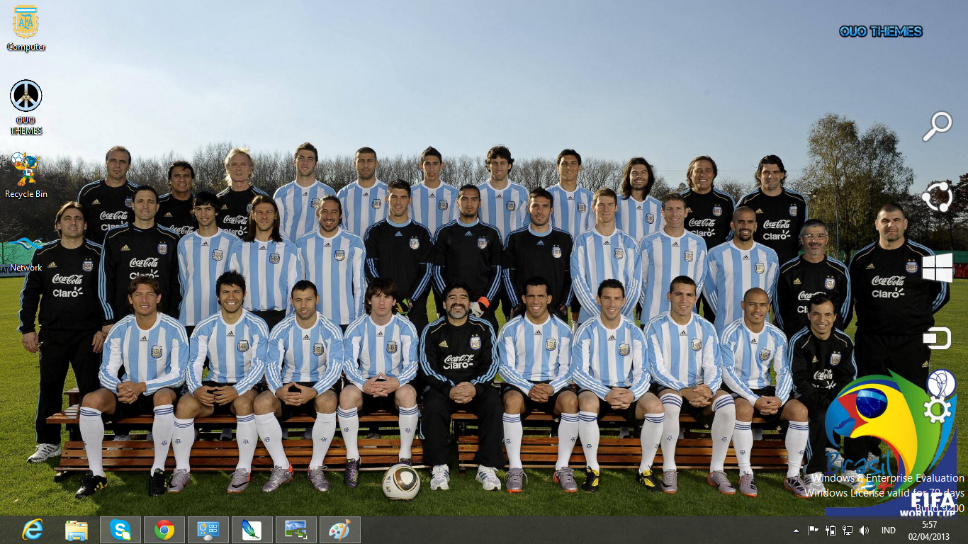 argentina football team fifa world cup 2014 theme for