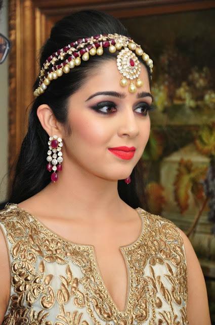 Cute Charmi Kaur Gorgeous Ramp Walk Images Collection