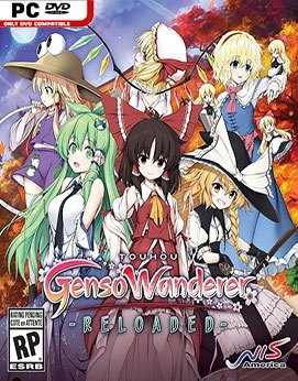 Touhou Genso Wanderer Reloaded Jogos Torrent Download capa