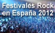 mejores festivales rock españa 2012