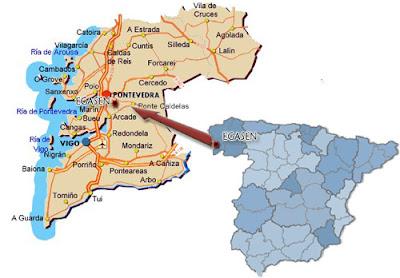Pontevedra mapa España