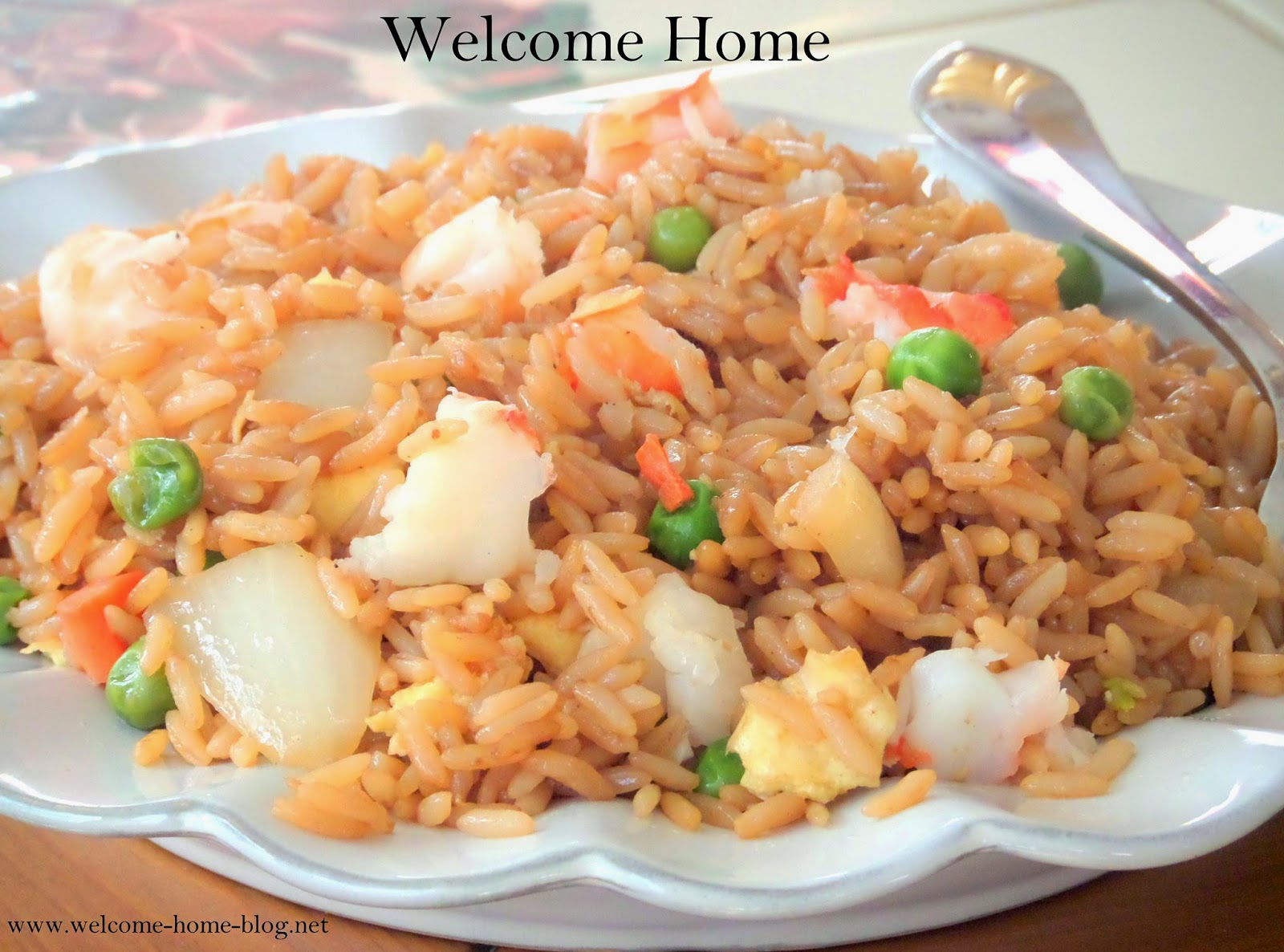 Welcome Home Blog: ♥ Shrimp Fried Rice
