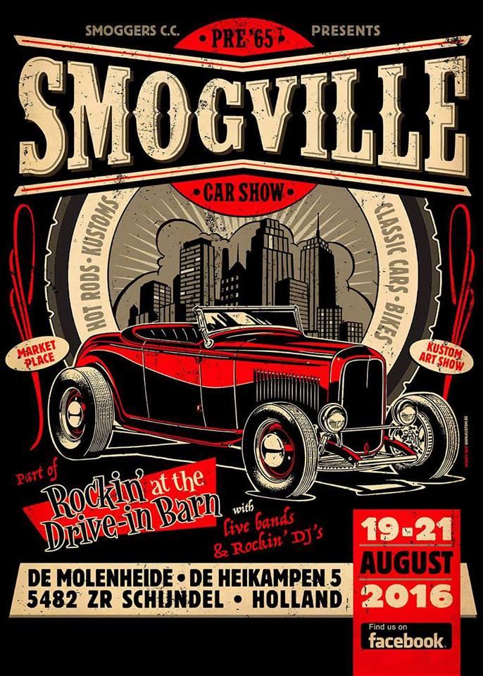 Smogville Car Show 2016