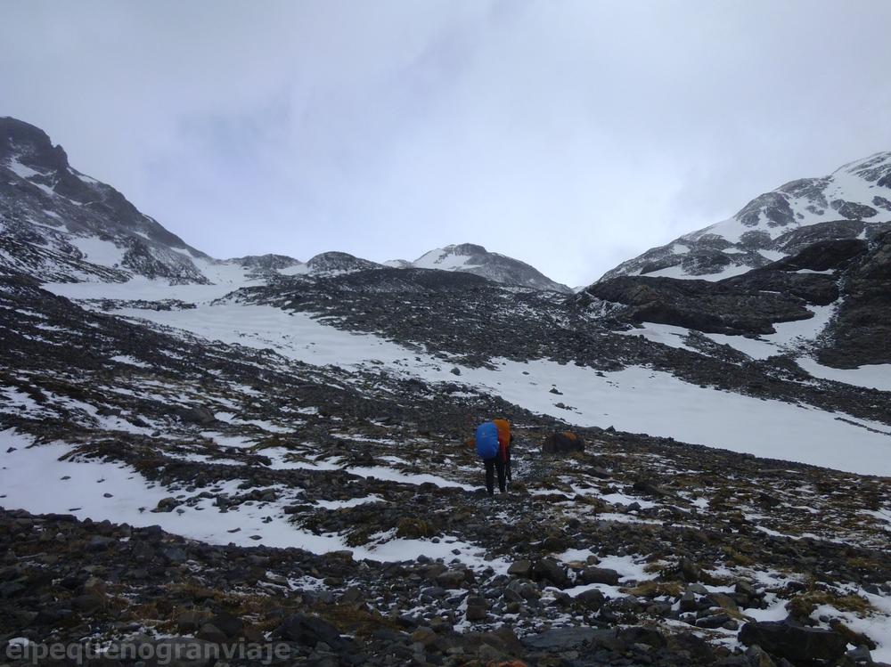Torres del Paine, paso John Gardner