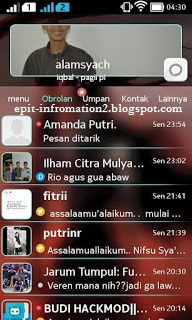 BBM Modd Theme Blur Transparan apk 2.8.0.21