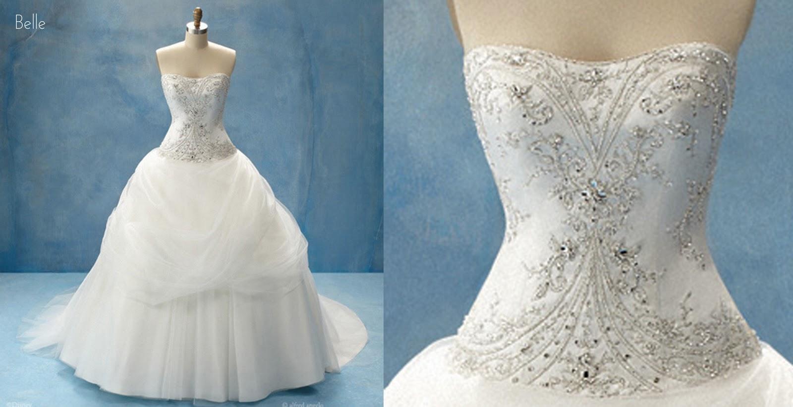 Robe de princesse blanche neige