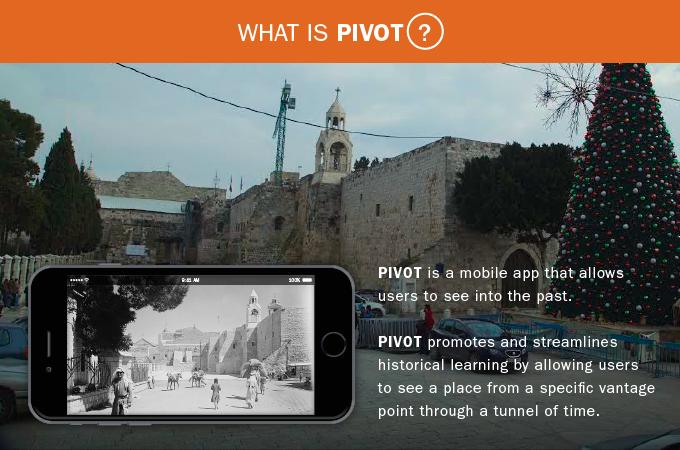 Voltar no tempo é possível: Conheça o aplicativo PIVOT