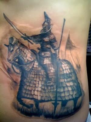 Tatuaje de Cabalero