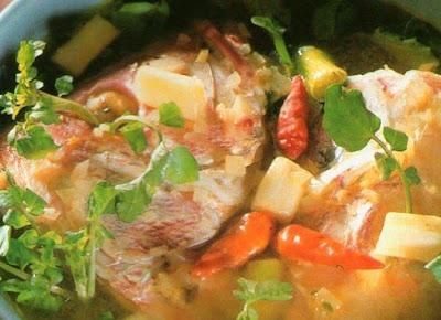 Resep Sup Kepala Ikan Kakap