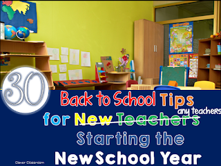 Back to School Tips Primary Chalkboard blog