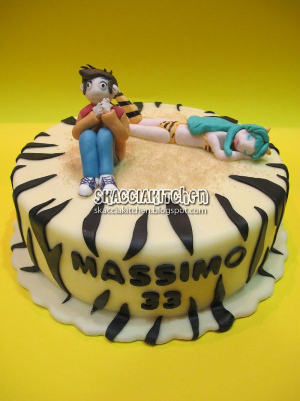 Lamù cake