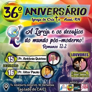 Aniversário da Igreja de Cristo